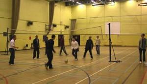 Volleybal sportzaal de Vang